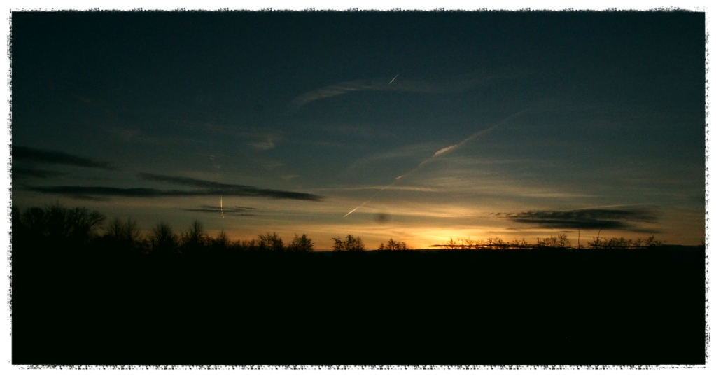 Sonnenaufgang / Silvester