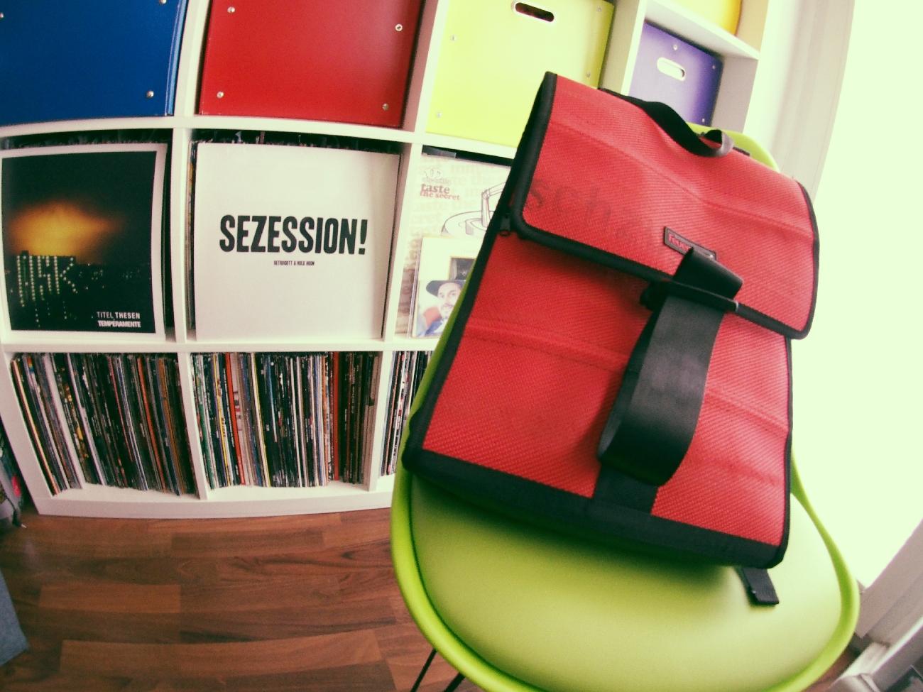 Tasche gepackt