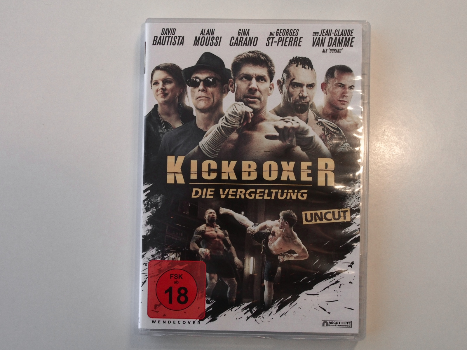 Kickboxer - Cover - Fotodinge.de
