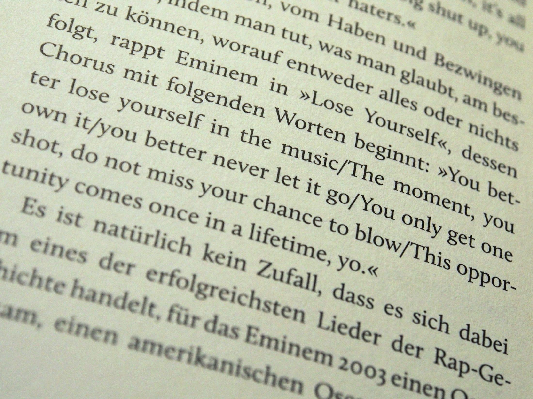 Eminem von Antonia Baum